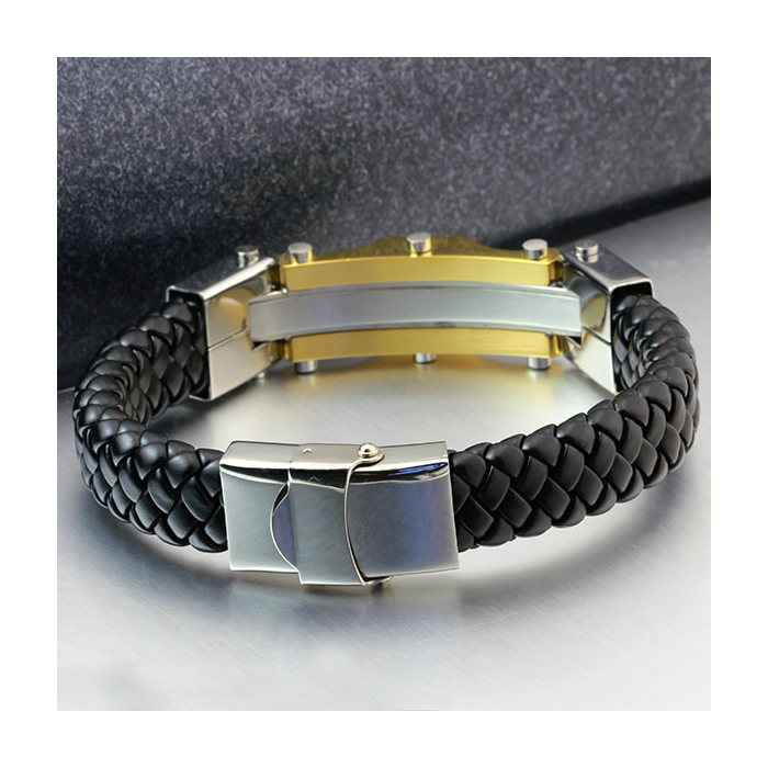 Bracelet, Stainless Steel Bracelet, Leather Bracelet, Mens Bracelet, Jewellery, Jewelry