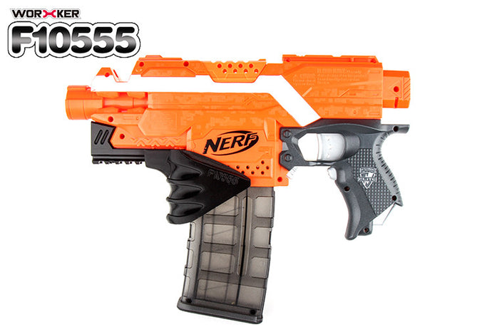 Stryfe lower rail and Mag Grip