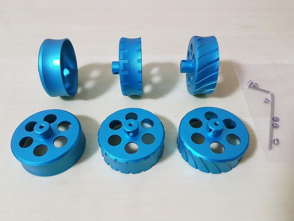 Rifled Flywheels