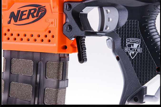Stryfe mag release lever