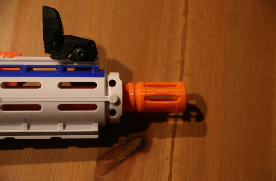 Orange Birdcage flash hider