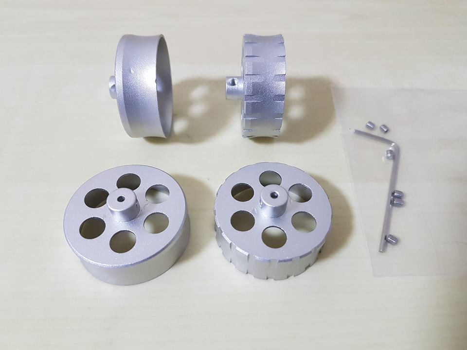 Smooth canted flywheels