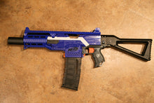 Nerf Stryfe AS-1 body kit color matched (blue or orange available)