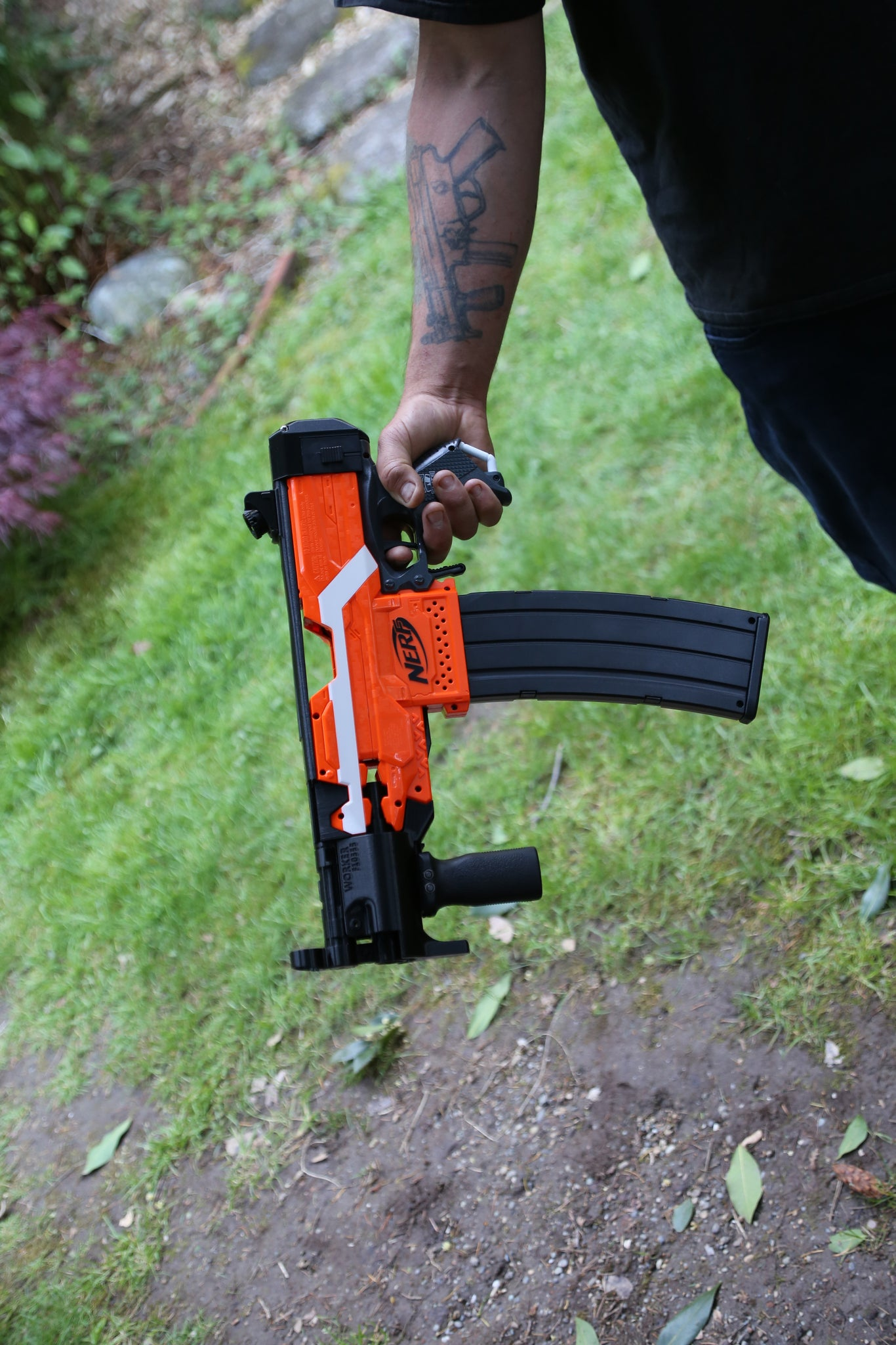 Accessories and stock attachments – Tacticool Foam Nerf