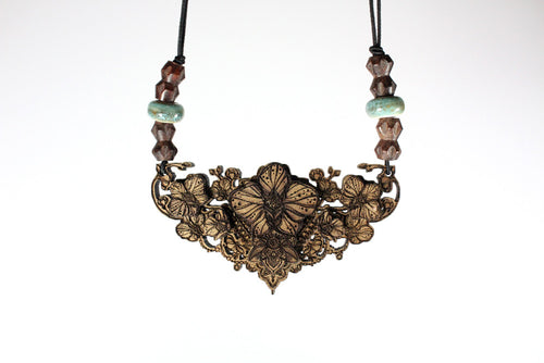 "The Orchid 3"" Solid Necklace 