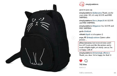 bag for catlovers