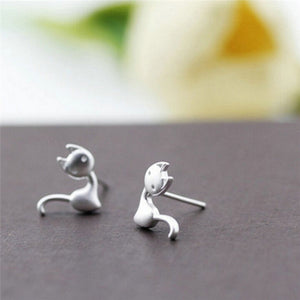 Silver Plated Stud Earrings