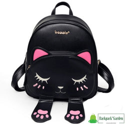 Backpack cat 3D black