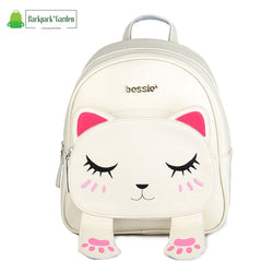 Backpack cat 3D White