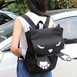 Kawaii cat 3D backpack
