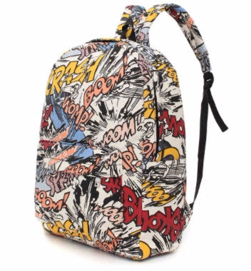 Cute backpack cartoon print
