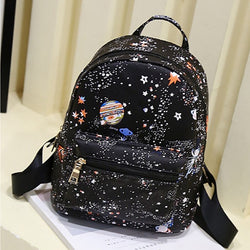 Cute backpack star universe