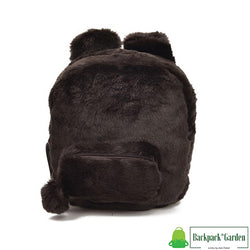 Plush bunny backpack model unagi brown
