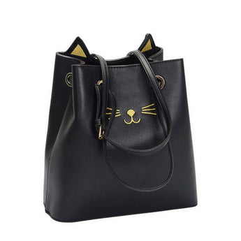 Tote style cat kawaii handbag