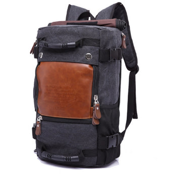 Travel backpack multifunctional versatile