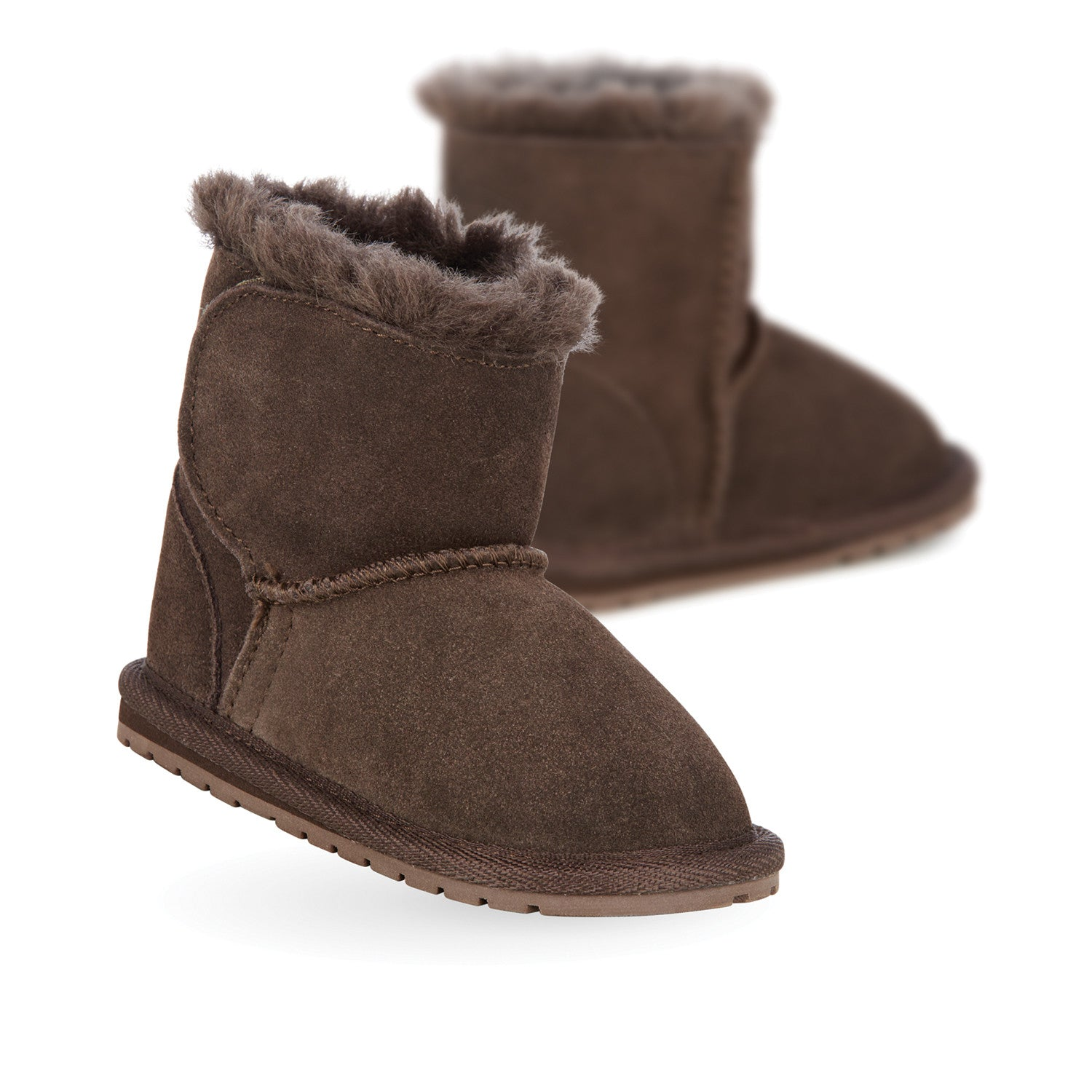 FW EMU TODDLES SHEEPSKIN SIZES 6-24 MONTH FIRST WALKERS