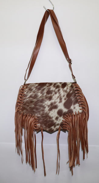 Veronica Shoulder Bag - 100% leather and Cowhide
