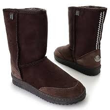 FW EMU OUT BACK LO SHEEPSKIN AUSTRALIAN MADE BOOT