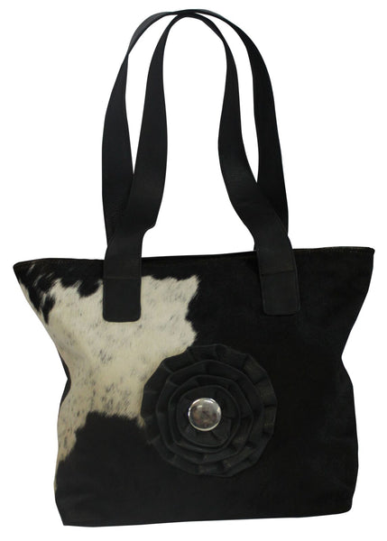 Johannah Tote Bag - 100% Leather & Cowhide