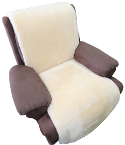 UNIVERSAL RECLINER SHEEPSKIN OVERLAY WITH LACING