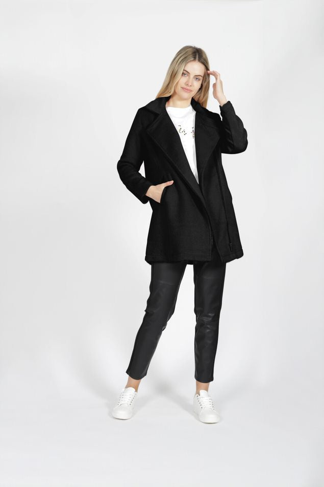 Sass Viv Jacket - Black