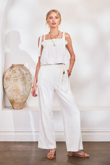 Lost In Lunar Tahani Pants - White