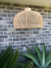 Rattan Bell Shaped Light Shade
