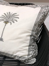 Bungalow Living Palm Tree Black Cushion 45cm