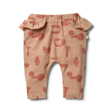 Wilson & Frenchy Cut N Paste Ruffle Pant