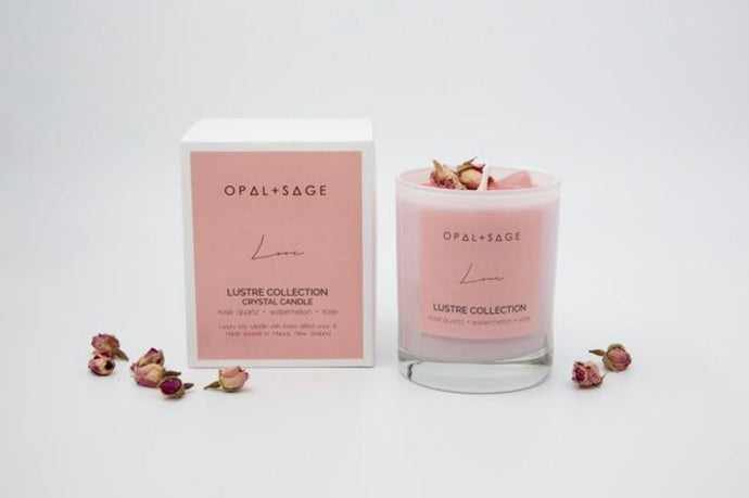 Opal & Sage Love Lustre Candle