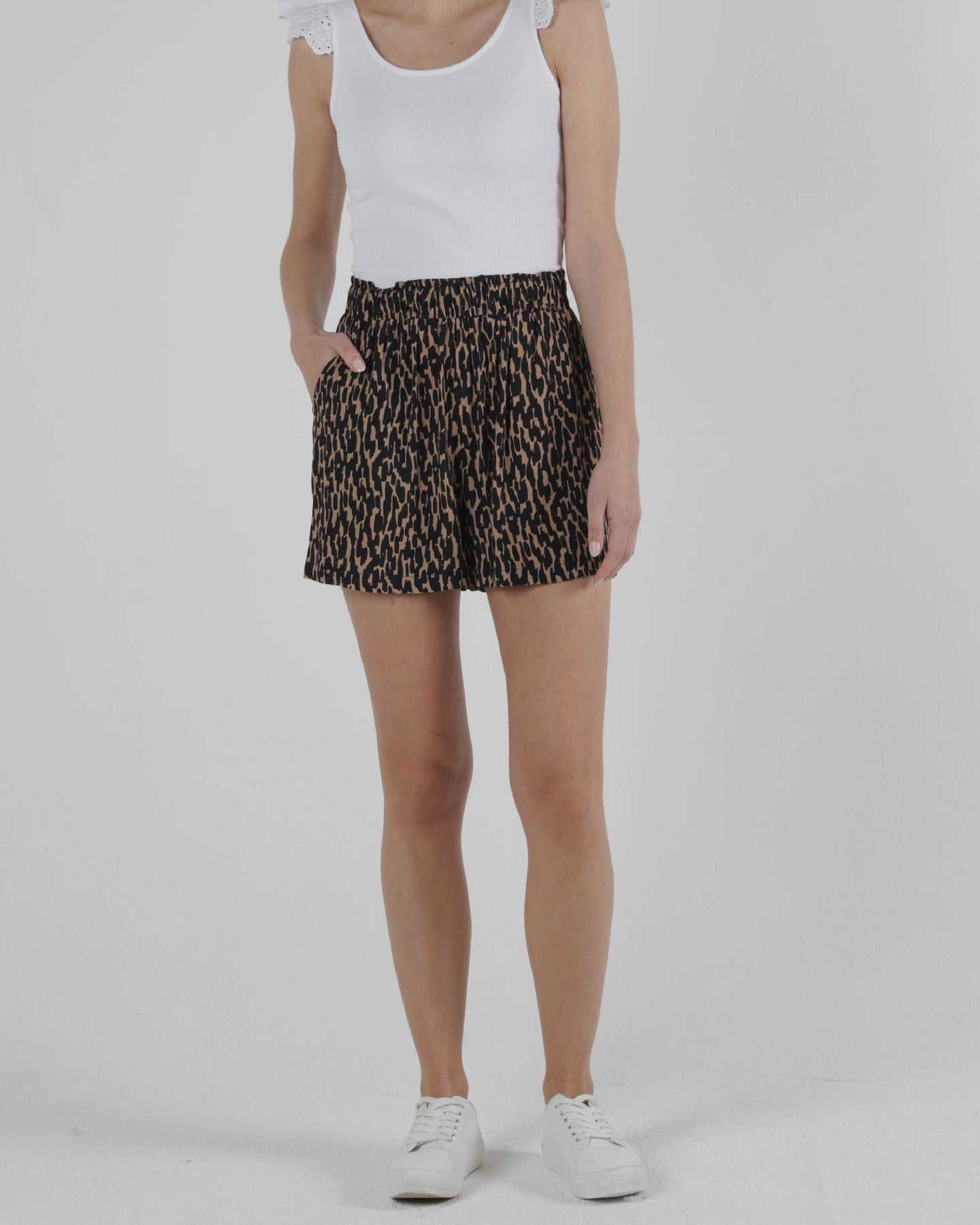 Camille Short - Animal Print