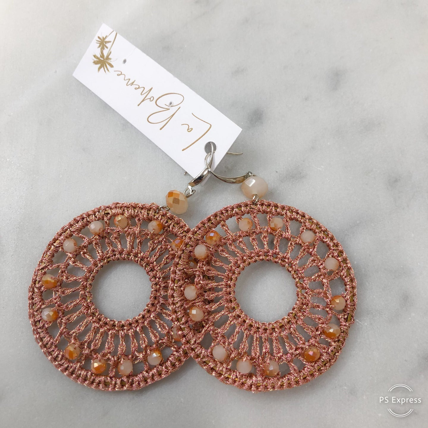 Adorne Dream Catcher Beaded Hook Earrings