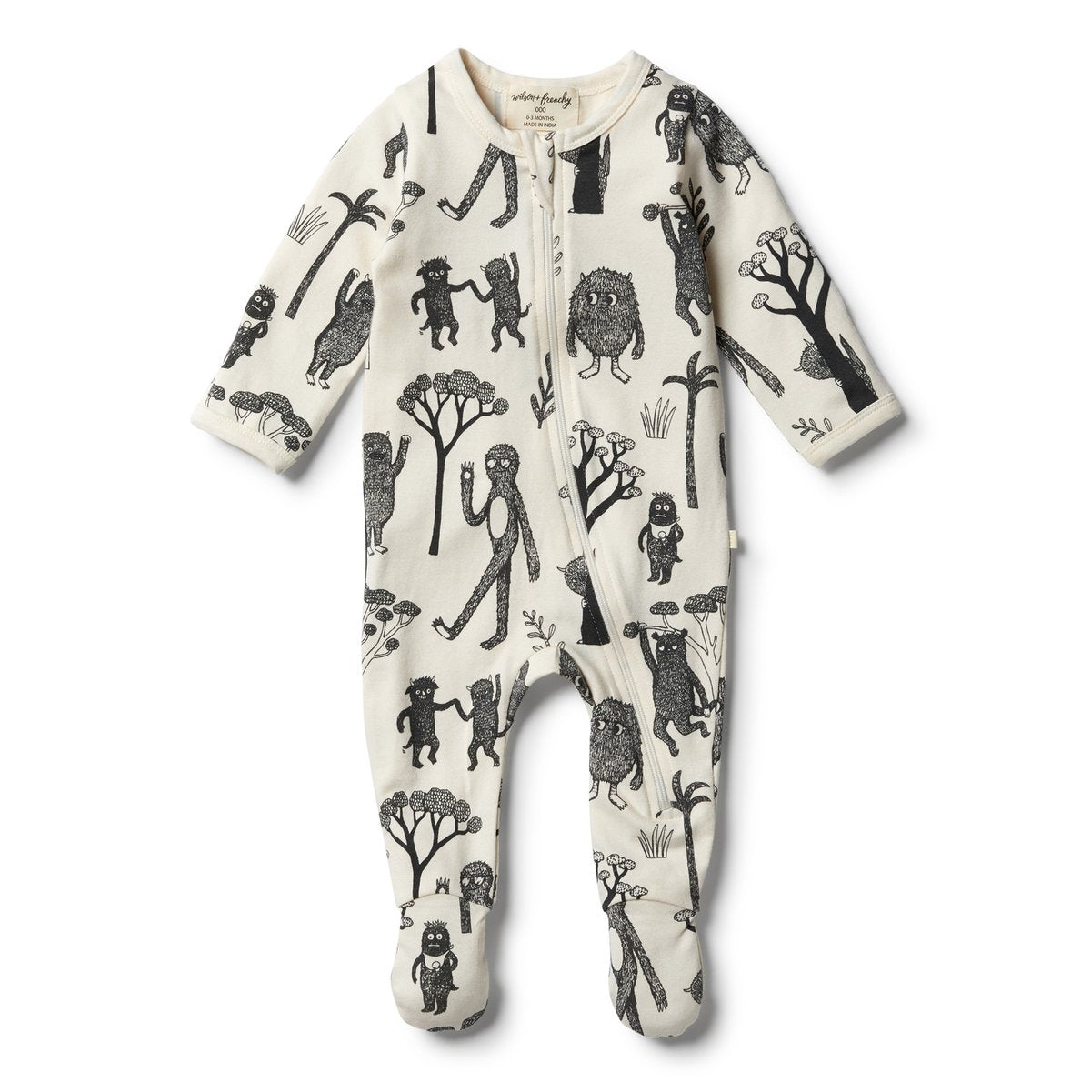 Wilson & Frency Wild Zipsuit