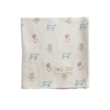Nature Baby Cotton Baby Wrap NATURE BABY PRINT