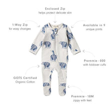 Wilson & Frenchy Zipsuit with Feet - Little Adventures