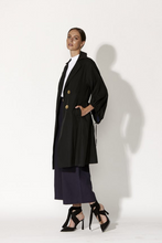Fate & Becker High Hopes Trench Coat - Black