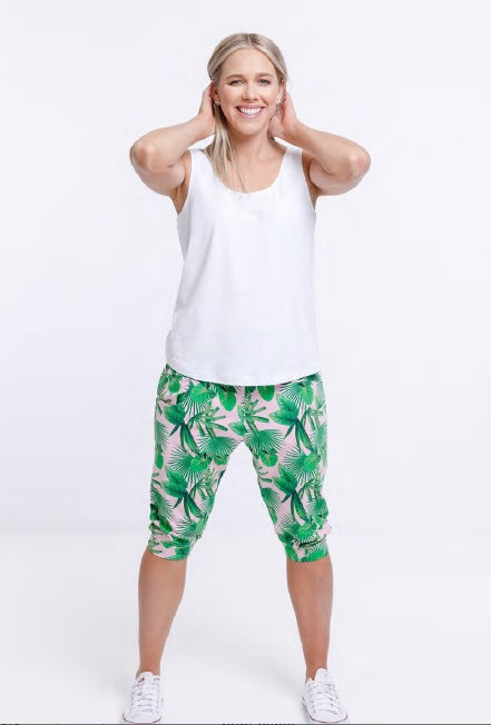 Home Lee 3/4 Apartment Pants - Tropical