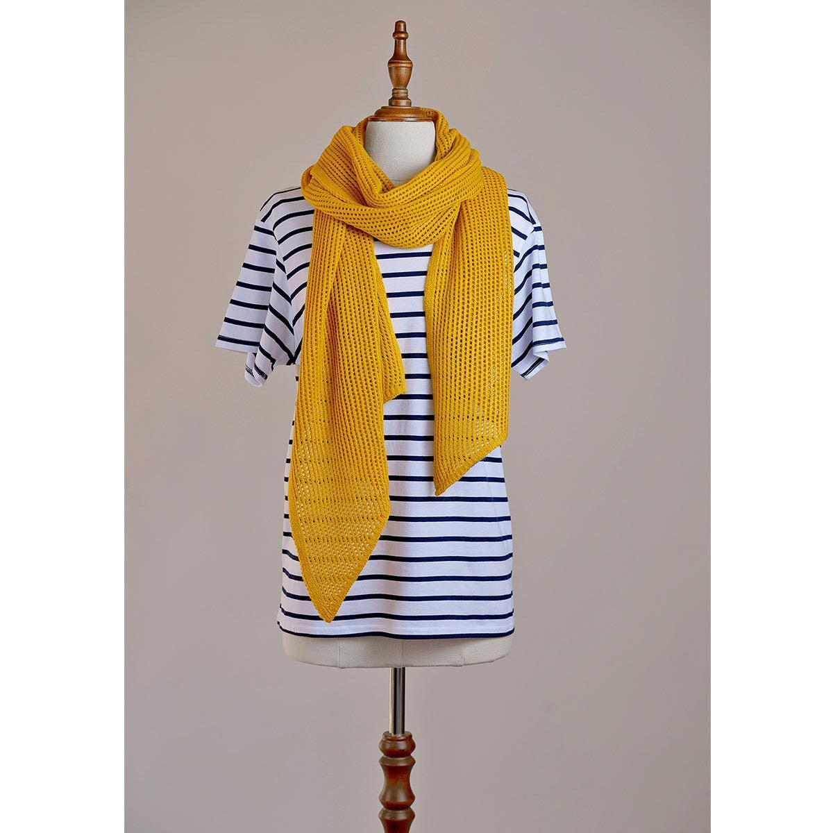 Hello Friday The Stylist Scarf - Mustard