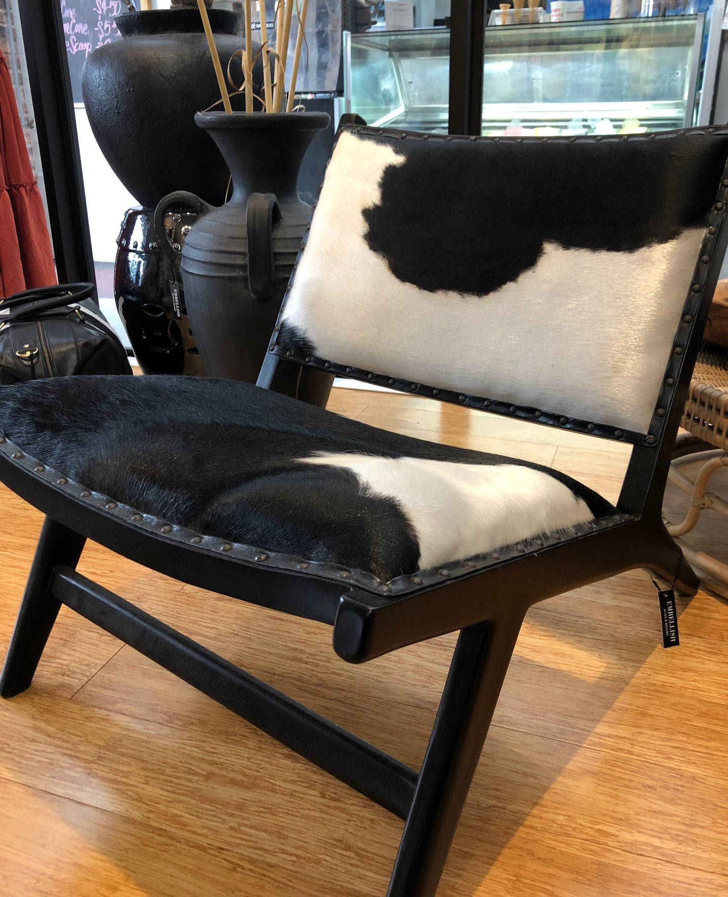 Cowhide Chair (Freight TBA)
