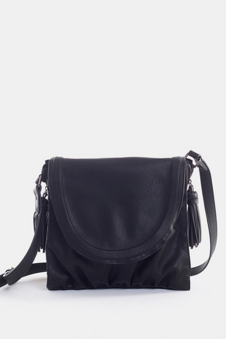 Jorge Light Up Shoulder Bag - Black