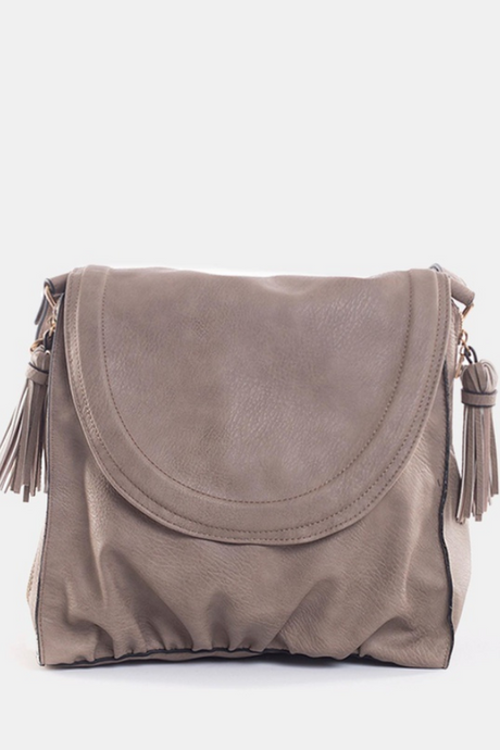 Jorge Light Up Shoulder Bag - Pewter