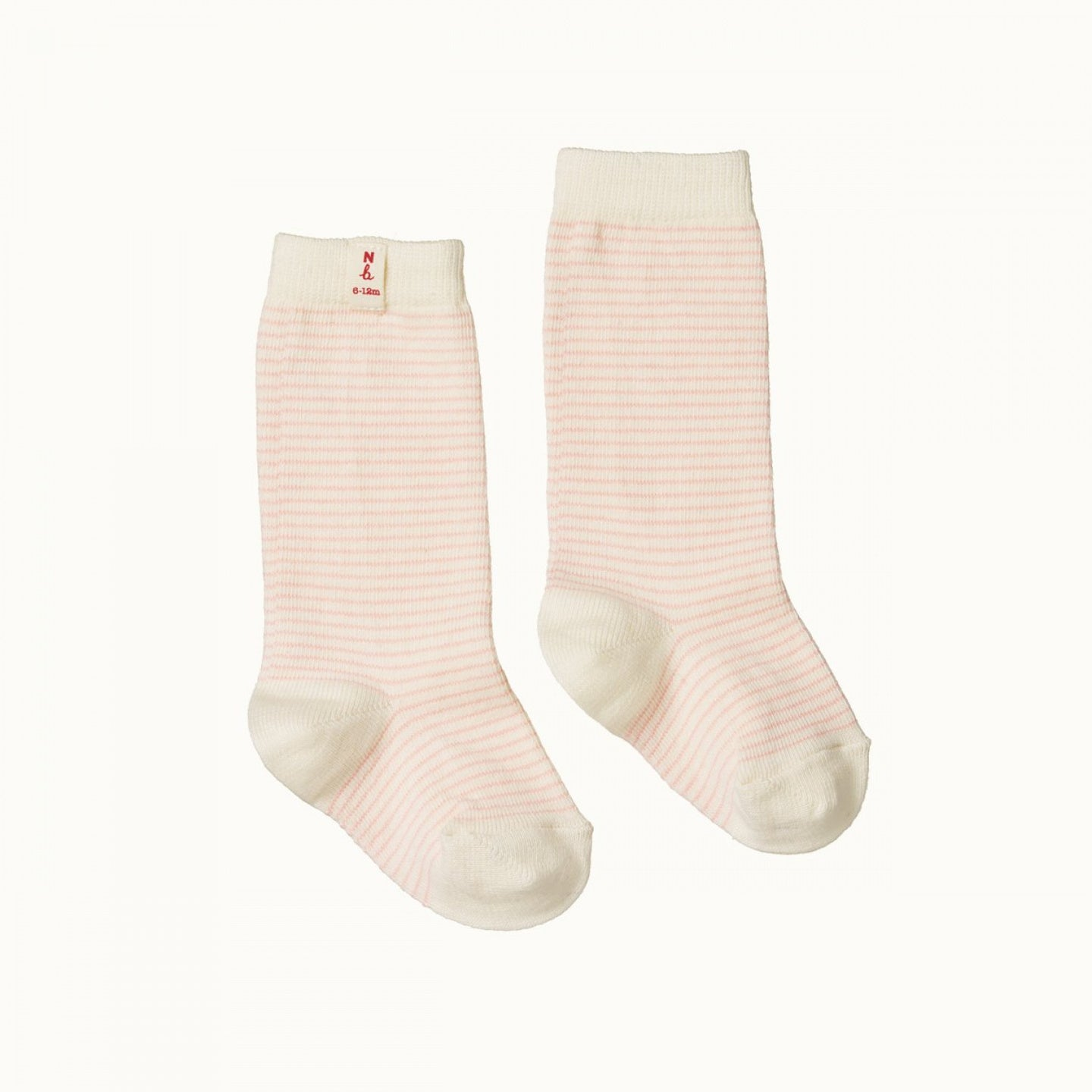 Nature Baby Striped Socks PINK