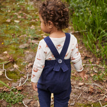 Nature Baby Cord Finley Overalls - Night