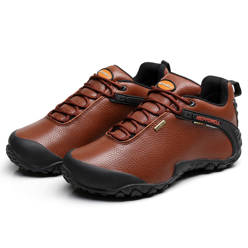 Genuine Genuine Genuine Pelle Unisex Hiking Shoes 2aa3f4