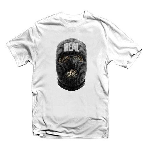 Real Ski Mask Urban Street Wear T-shirt