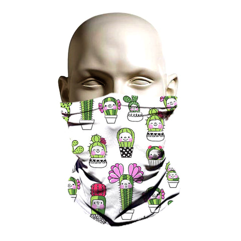 Cool cactus Ski Mask - Face guard - neck warmer - Balaclava face cover