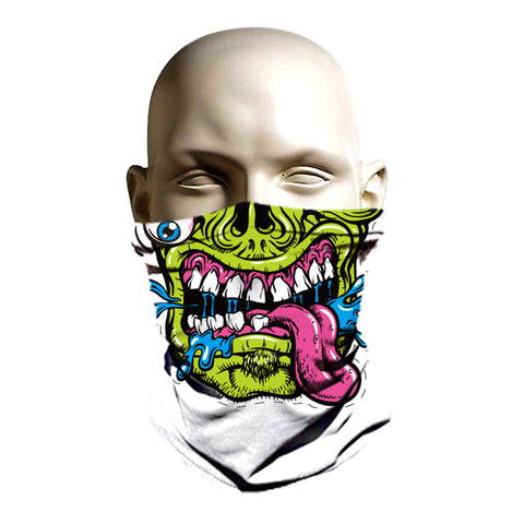 Ski mask zombie design for winter protectin
