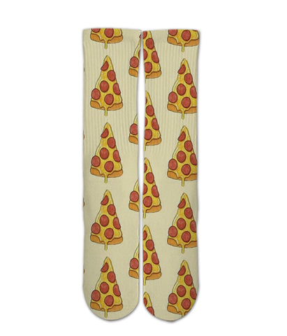 Pizza printed socks - Graphic socks | teen socks | kid socks | men socks | women socks