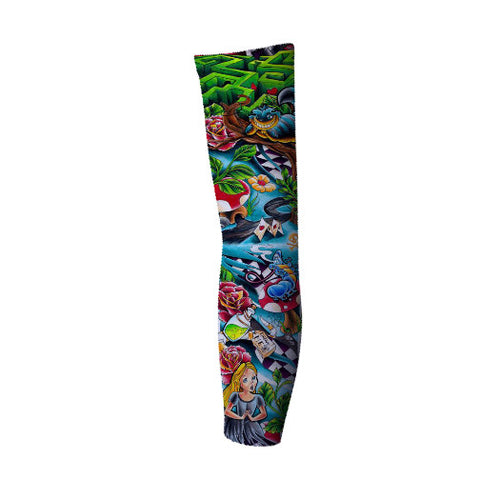 Cool graphic design printed arm sleeves - Cool designs for arm sleeve's