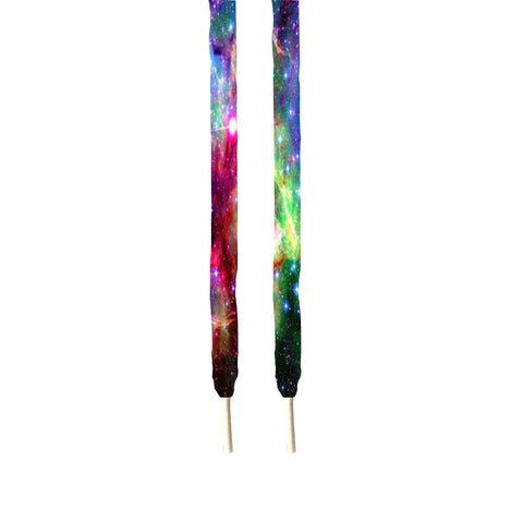 Rainbow Galaxy style Printed Shoe lace's